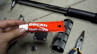 10. Ducati Diavel First Oil Change