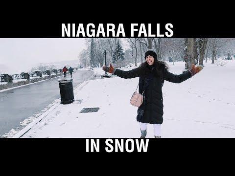 Download Niagara Falls in Winters HD Mp4 3GP Video and MP3