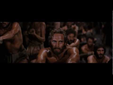 Ben-Hur (1959) - Rowing Of The Galley Slaves HD