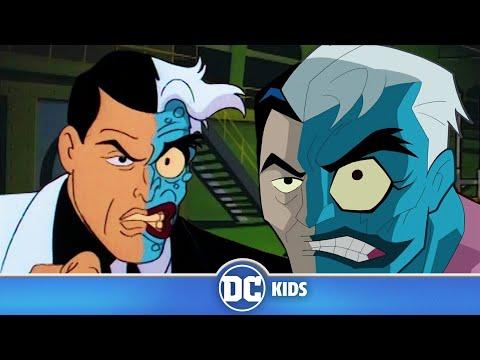Batman VS Two-Face   Classic Batman Cartoons   DC Kids