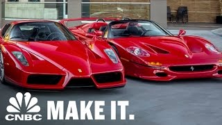 Jay Leno Swoons Over $12 Million Ferrari Collection | CNBC Make It.