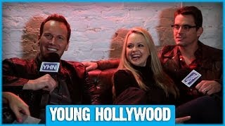 SPACE STATION 76's Matt Bomer, Patrick Wilson, & Marisa Coughlan on the Present Future!
