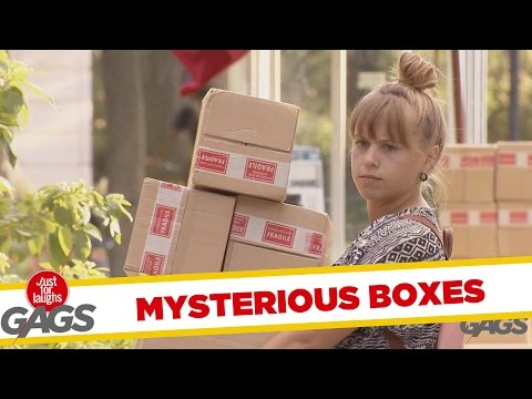 Nachytávka - Tajemné krabice