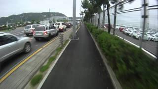 Ulsan South Korea  City pictures : Ulsan, South Korea. Ride to Work. Exordium - HHI