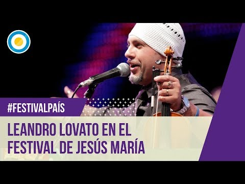 Festival Jesús María - Sexta noche - Leandro Lovato - 09-01-13 (1 de 2)