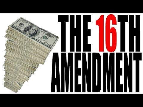 16th Amendment Examples The 16th Amendment Explained