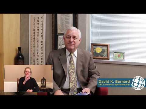 The Church in a Pandemic – UPCI General Superintendent David Bernard