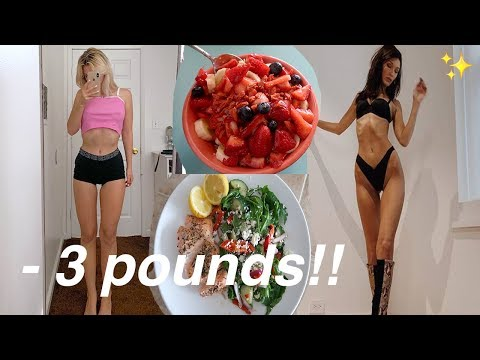 Trying the Victoria Secret Model Diet for 7 days (HARD!!!)