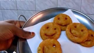 Evening Snacks Recipe in Tamil - Potato Smiley Recipe - Potato Recipe - Aloo Recipe -Kids Recipe