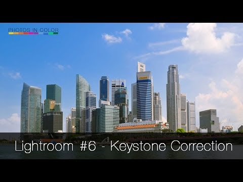 Lightroom Tutorial #6 - Perspective correction in 1 simple step