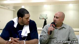DraftExpress Exclusive: Jerome Jordan Pre-Draft Interview & Workout Footage