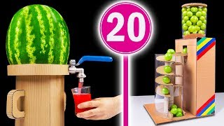 Video 20 Amazing Things You Can Do at Home from Cardboard MP3, 3GP, MP4, WEBM, AVI, FLV Januari 2019