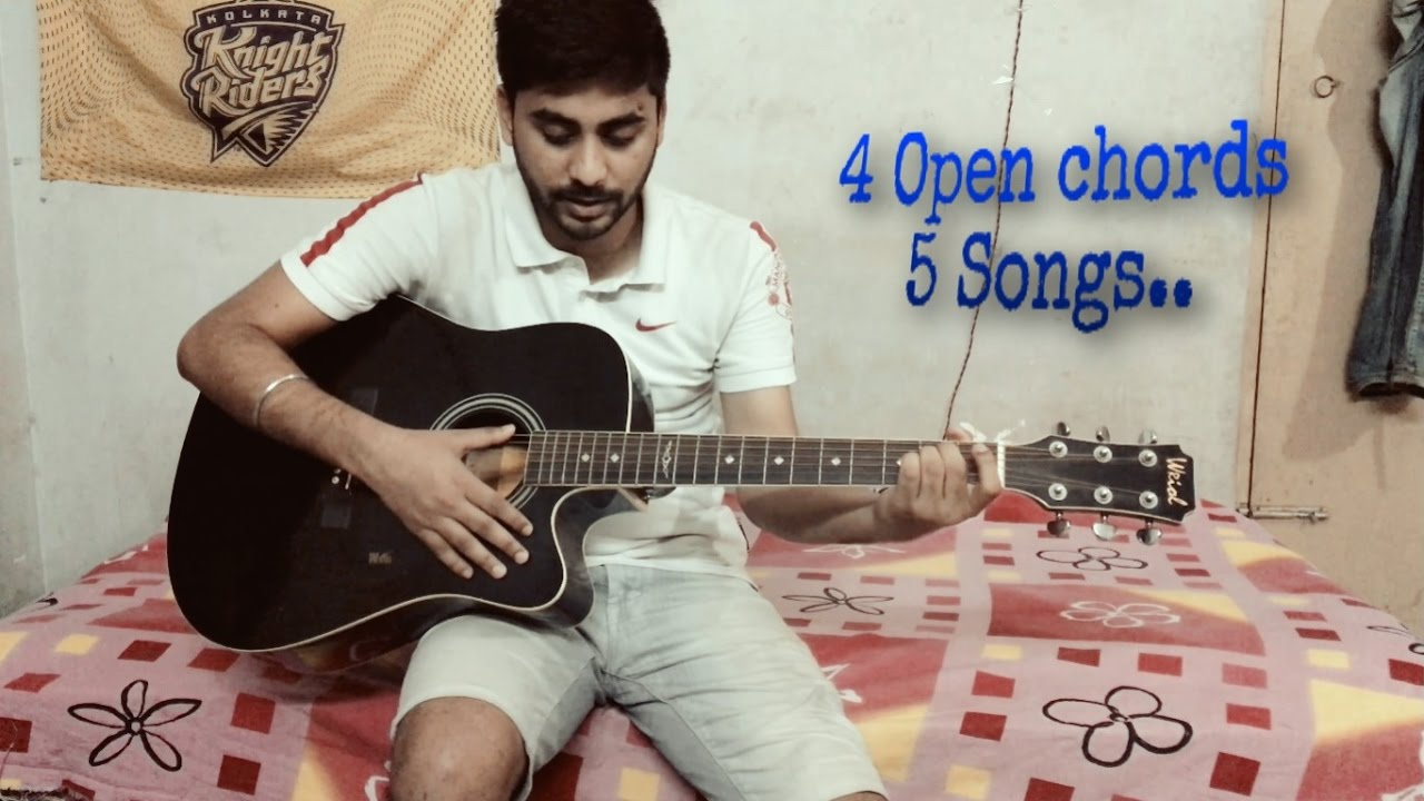 Hindi songs on guitar for college fest and functions(Go impress a girl) Tutorial