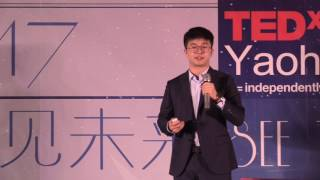 This speaker, he did something may petrify you. He rejected Cornell but chose to go to another university in America.乔治城大学外交外事学院在读