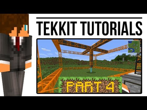 Tekkit Tutorial: Quarries (BuildCraft)