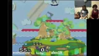 Legendary footage of Mango's Kirby vs Lucky/Alex19