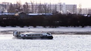 Heihe China  city photos gallery : Hovercraft to China - Russia with Jonathan Dimbleby - BBC