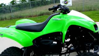 9. 2009 Kawasaki KFX700 Sport ATV with Automatic Transmission.