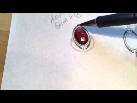 Kristina's Garnet Ring