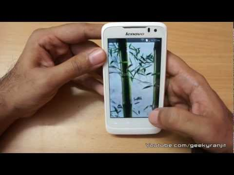 Lenovo P700i Android Phone Unboxing & Overview