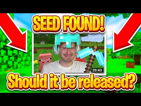 PewDiePie's Minecraft World Seed Was Found! Should It Be Released?
