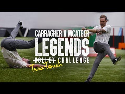 Video: Carragher v McAteer: Legends Challenge 2019 | Carra's unbelievable finish