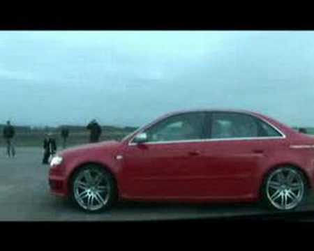 Video: BMW E92 M3 V8 vs Audi RS4
