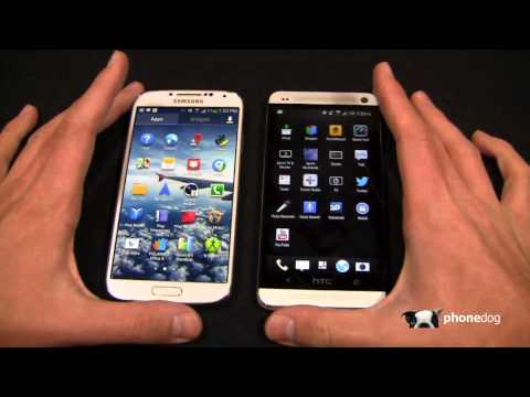 phonedog - Samsung Galaxy S 4 vs. HTC One Dogfight Part 1 This is easily THE PhoneDog dogfight battle of the century. Samsung's Galaxy S 4 is poised to be the Android l...