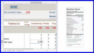 Macros Calorie Calculator YouTube video