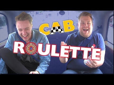 James Corden Plays Cab Roulette With Roman Kemp