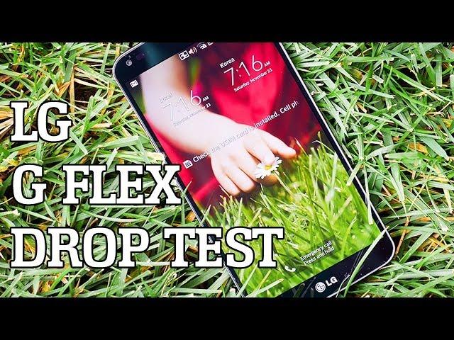 LG G Flex Drop Test!