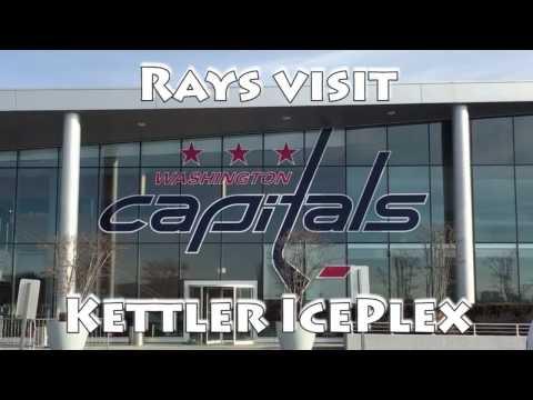 Stingrays Visit the Kettler Capitals Iceplex
