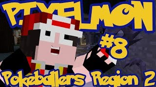 Minecraft Pixelmon: Pokeballers Server Region 2 - Episode 8 - HAUNTER!!
