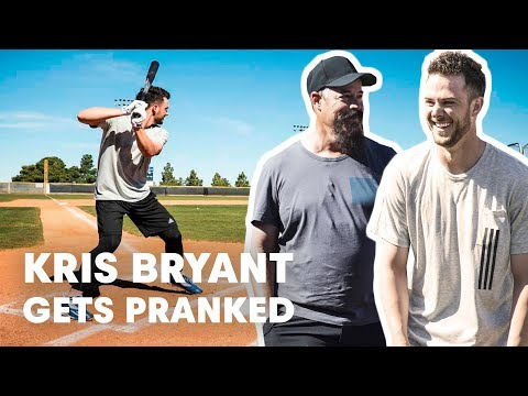 Baseball Star Kris Bryant Gets Pranked by Hall of Famer Greg