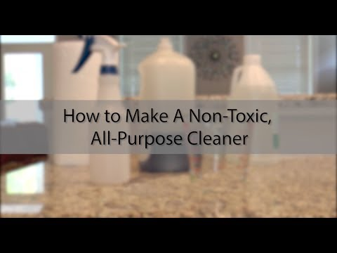 How to Make a Non-Toxic, All-Purpose Cleaner