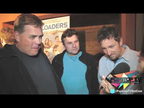 Steve Lemme, Kevin Heffeman, and Josh Lawson Freeloaders Screening Inteview