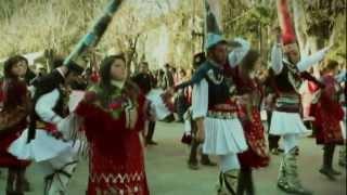 Razlog Bulgaria  City pictures : Kukeri in Razlog - Bulgaria