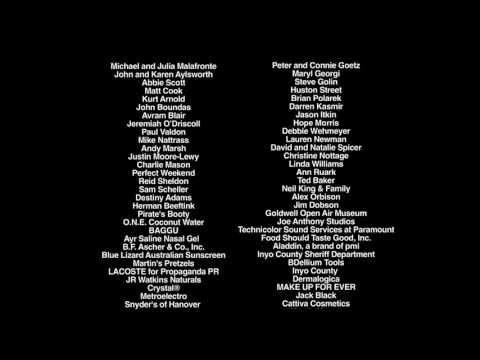 Scenic Route (2013) - final movie soundtrack