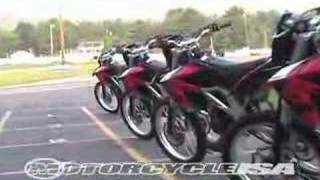 9. 2007 Aprilia RXV Dirt Bike Review