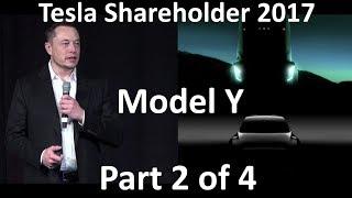 Elon Musk at Tesla Shareholder - Model Y 1st Image - 2017-06-06 [Part 2 of 4]
