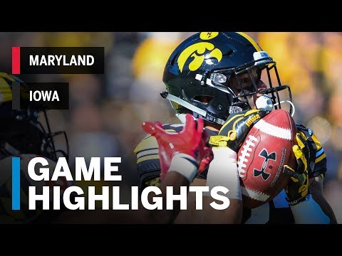 Highlights: Maryland At Iowa | Big Ten Football