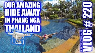 Phang Nga Thailand  city photo : Our amazing hide away in Phang Nga Thailand - Vlog # 220