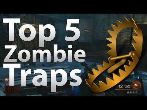 'TOP 5' Traps in 'Call of Duty Zombies' -