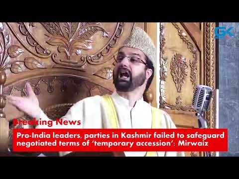 Pro-India leaders, parties in Kashmir failed to safeguard negotiated terms of 'temporary accession'