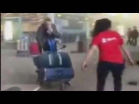 Εικόνες αμέσως μετά την έκρηξη σε αεροδρόμιο και μετρό των Βρυξελλών