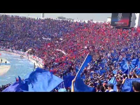 Salida Los de Abajo Udechile vs Colo colo 2016 - Los de Abajo - Universidad de Chile - La U - Chile - América del Sur