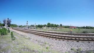 Burkeville (VA) United States  city images : N&W J611 Steam Locomotive - Burkeville, VA - GoPro