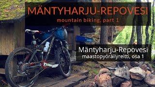 Video Mäntyharju-Repovesi mountain biking route, part 1 (Maastopyöräilyä Mäntyharju-Repovesi reitillä) MP3, 3GP, MP4, WEBM, AVI, FLV Juni 2017