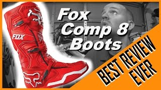 9. BEST REVIEW EVER – FOX COMP 8 BOOTS