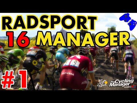 RADSPORT MANAGER 2016 #1 - Le Tour de France! «» Let's Test «» │1440p │ Deutsch